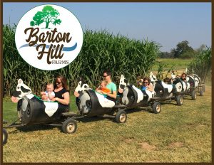 Barton Hills Farm train ride