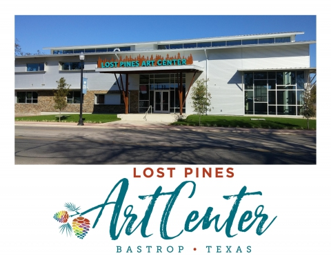 Front view of Lost Pines Art Center