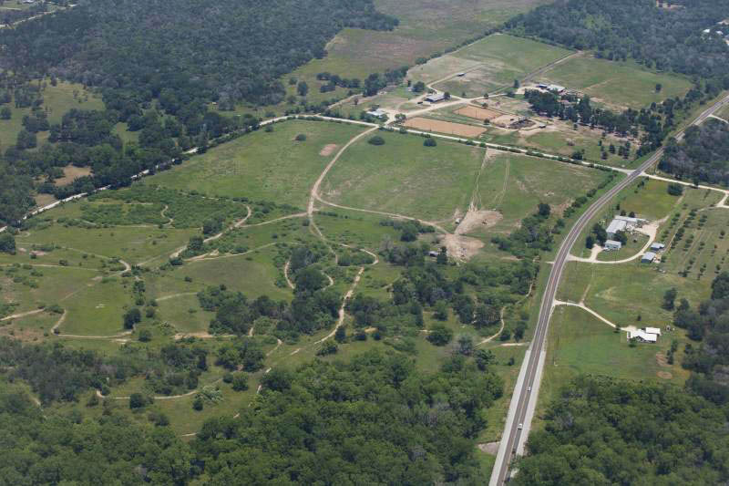 Aerial of Rusty's Walnut Creek Ranch