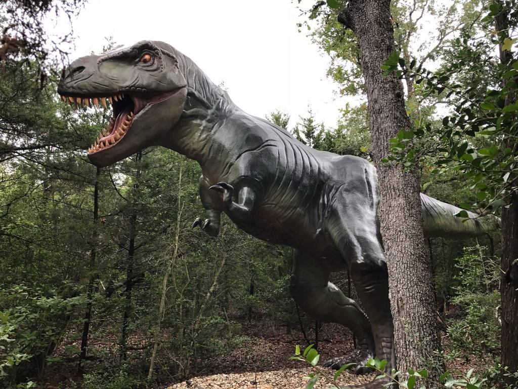 T-Rex The Dinosaur Park in Bastrop County