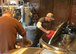 Brewing at Iron Bridge Icehouse in Bastrop TX