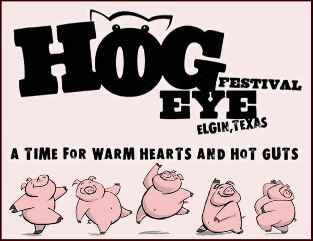 Logo for the Elgin Hogeye Festival