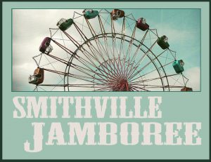 Smithville jamboree flyer with Ferris wheel