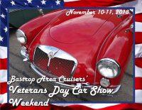 Veterans Day Car Show Banner