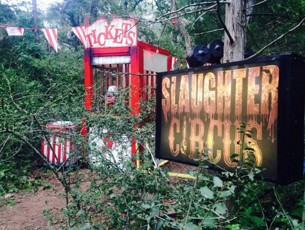 Slaughter Circus Entrance