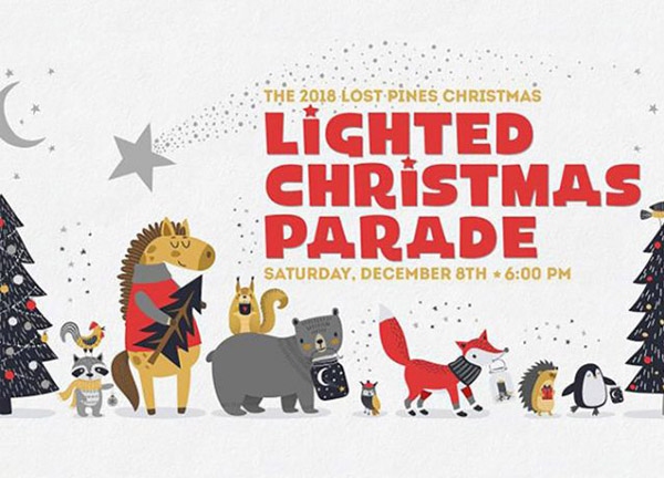 2018 Lost Pines Christmas Lighted Christmas Parade