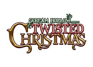 Scream Hollow Twisted Christmas banner