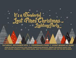 Wonderful Lost Pines Christmas