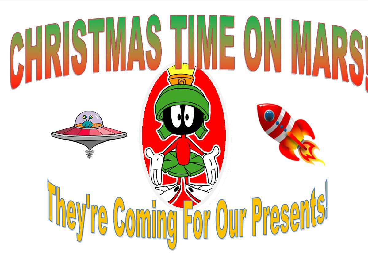 Musical theater with Christmas Time on Mars.