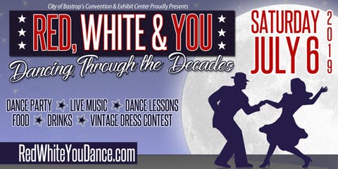 Red White & You Big Band dance party