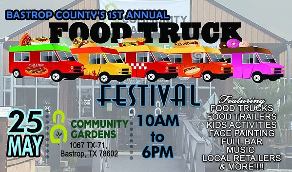 Food Truck Festival in Bastrop County