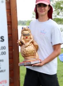 Hero Challenge - The Golden Frog trophy