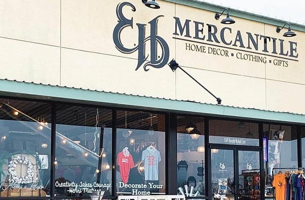 EH Mercantile store front