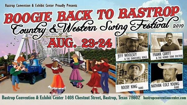 Boogie Back to Bastrop County Western Swing Festival 2019