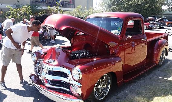 Blue Flame Cruisers Car Show in Bastrop TX
