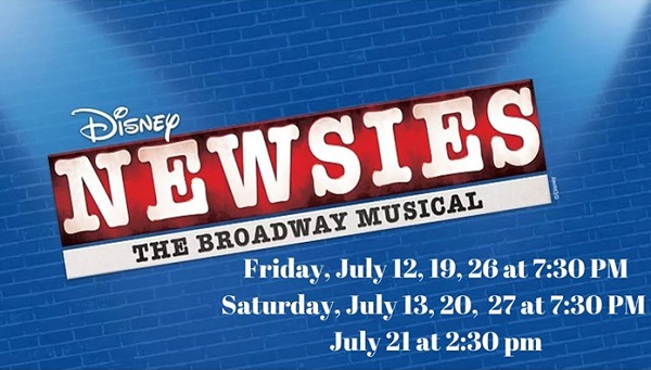 Newsies the Broadway Musicak performances