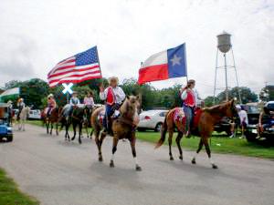 Elgin Texas 4th of July parade