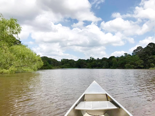 Canoe 101 lessons at Buescher State Park