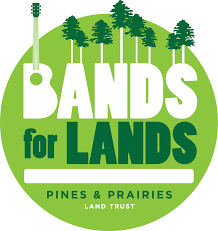 logo for Bands for Lands event
