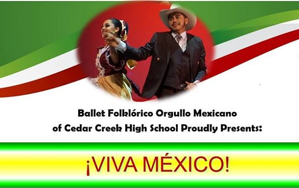 ¡VIVA Mexico! cultural dance performance information