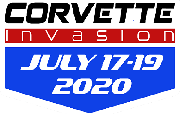 Corvette Invasion 2020 logo
