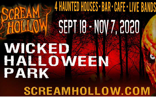 Wicked Halloween 2020 Scream Hollow Wicked Halloween Park 2020   Explore Bastrop County